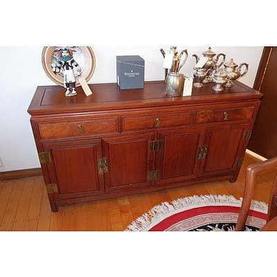 Chinese Rosewood Sideboard