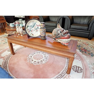 Chinese Rosewood Kang Table