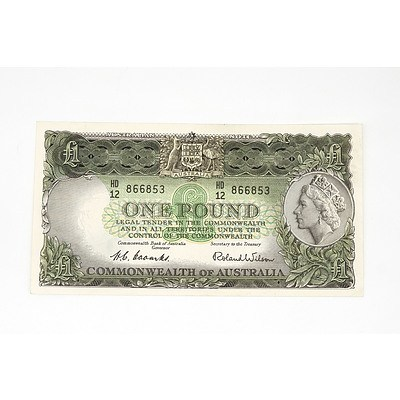 1953 Coombs / Wilson One Pound Note, HD12866853