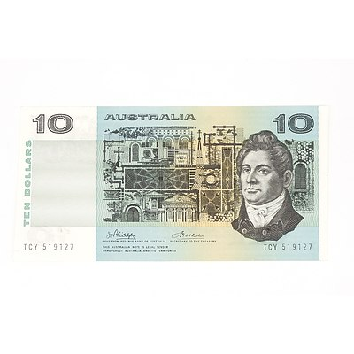 1974 Phillips / Wheeler Ten Dollar Note, TCY519127