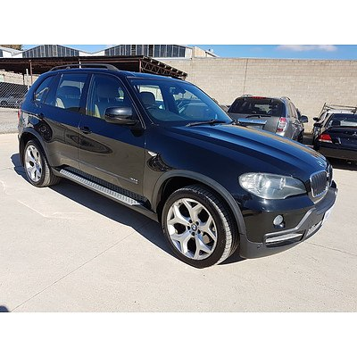 12/2007 BMW X5 3.0D E70 4d Wagon Black 3.0L