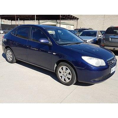 8/2006 Hyundai Elantra SLX HD 4d Sedan Blue 2.0L