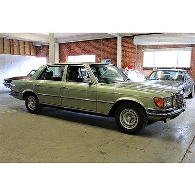 5/1979 Mercedes-Benz 450SEL 4d Sedan Green 4.5L V8