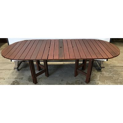 Extension Outdoor Table