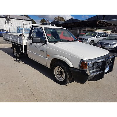 9/1997 Ford Courier   C/chas White 2.6L