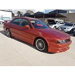 10/2000 Mitsubishi Magna VR-X TJ 4d Sedan Orange 3.5L