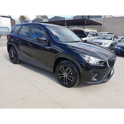 11/2012 Mazda Cx-5 MAXX (4x2)  4d Wagon Black 2.0L