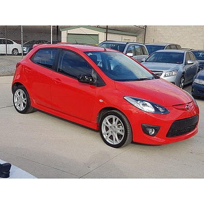 11/2007 Mazda Mazda2 NEO 5d Hatchback Red 1.5L
