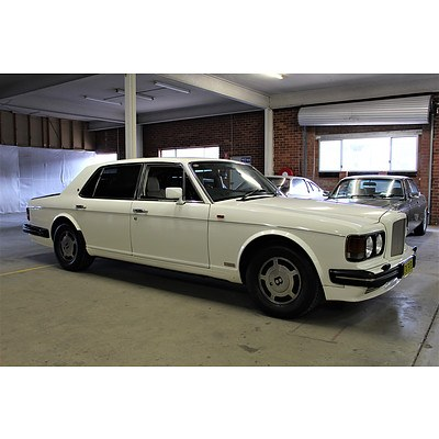 1989 Bentley Turbo RL (LWB) 4d Saloon White 6.8L