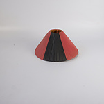 Spare Black and Red Lamp Shade for Barsony Lamp