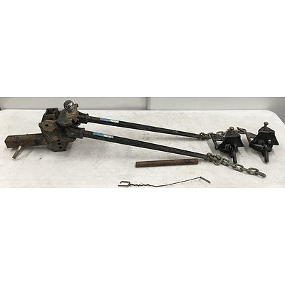 Heavy Duty Tow Bar and Stabilizers