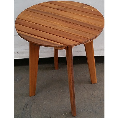 Hardwood Occasional Table