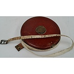 Vintage Robone Chesterman 30 Meter Tape Measure