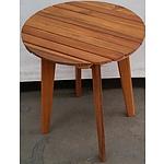 Hardwood Occasional Table