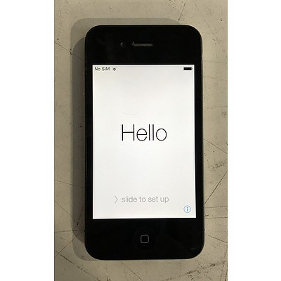 Apple (A1332) 3.5-Inch GSM Black 16GB iPhone 4