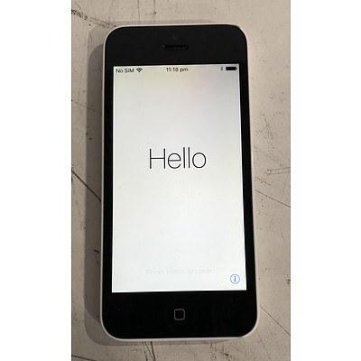 Apple (A1529) 4-Inch LTE White 16GB iPhone 5c