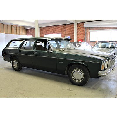 5/1976 Holden Kingswood SL HJ 4d Wagon Green 3.3L