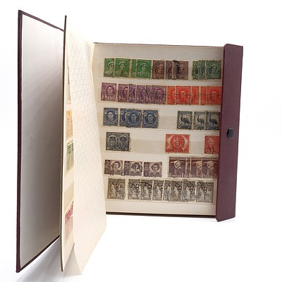 Large Collection of Early Pre Decimal Australian Stamps, Including Overstamped 2d Red Opening of Sydney Harbour Bridge