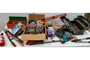 Large Lot of Assorted Tools