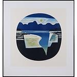 Brian Morton Hatch (1934-) Evening Passage, Woodcut Edition 4/20