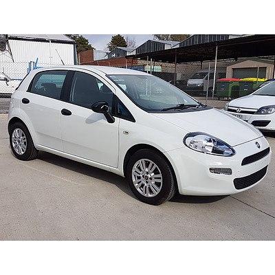 10/2013 Fiat Punto EASY MY13 5d Hatchback  1.4L