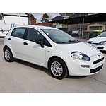 10/2013 Fiat Punto EASY MY13 5d Hatchback  1.4L