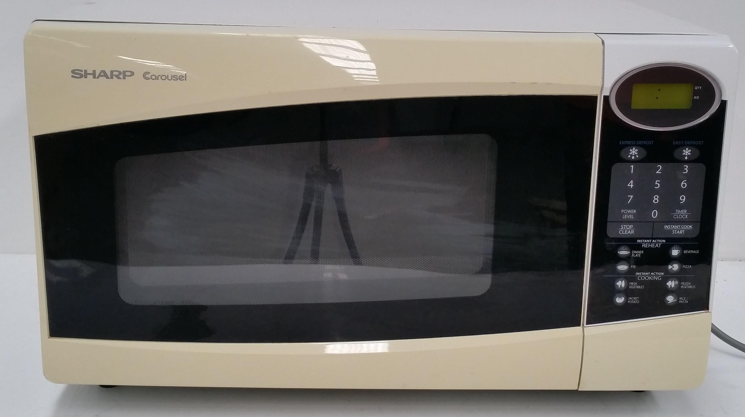 Sharp Carousel 1100 Watt Microwave Lot 1123576 Allbids