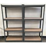 Two Workshop Shelves