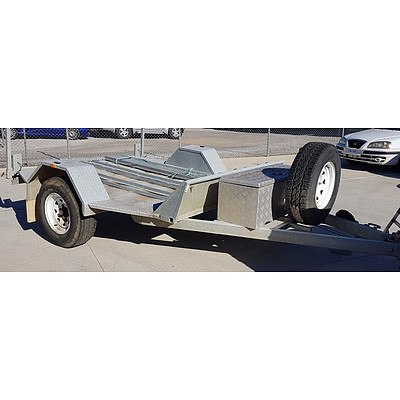 10/2011 Southern Cross Offroad 8x6 Motorcycle Trailer