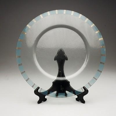 Large Peter Crisp (1959) Glass Charger