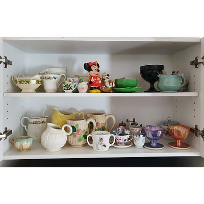 Extensive Kitchen Contents, Including English China, Table Ware, Flatware and Much More