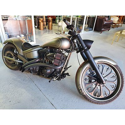 Harley Davidson Softtail by DGD Custom