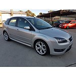 11/2007 Ford Focus XR5 Turbo LT 5d Hatchback Silver 2.5L