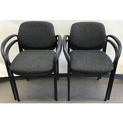 Four Reception Style Chairs