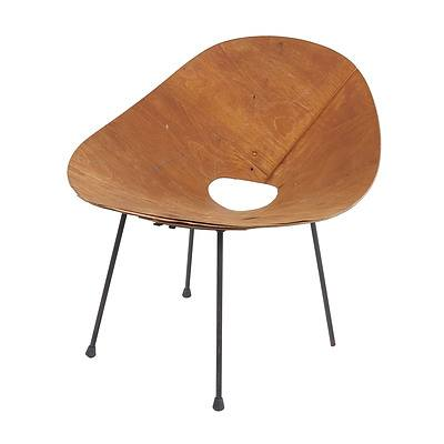 Roger McLay 1950s 'Kone' Chair (Poor Condition)