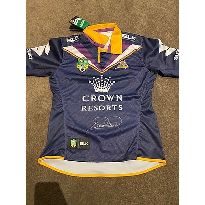 Cam Smith Signed Melbourne Storm Jersey