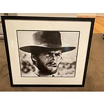 Hollywood Legend Clint Eastwood Framed Print