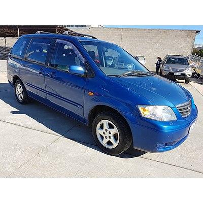 8/2000 Mazda Mpv  LW 4d Wagon Blue 2.5L