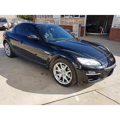 4/2010 Mazda RX-8 Luxury Series2 4d Coupe Black 1.3L