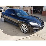 4/2010 Mazda RX-8 Luxury Series2 4d Coupe Black 1.3L