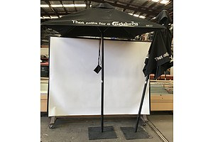 Specialty Products Group Cafe Umbrellas -Lot Of Two