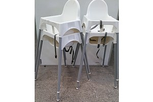 Ikea Infant Dining High Chairs - Lot of Four