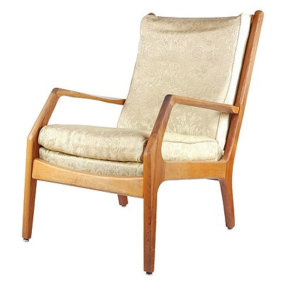 Van Treight Teak and Tasmanian Blackwood Armchair Circa 1960s