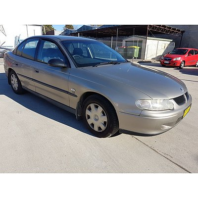 10/2001 Holden Commodore Executive VXII 4d Sedan Brown 3.8L