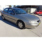 10/2001 Holden Commodore Executive VXII 4d Sedan Brown 3.8L