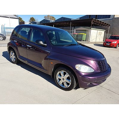 12/2005 Chrysler Pt Cruiser Limited MY06 5d Hatchback Purple 2.4L