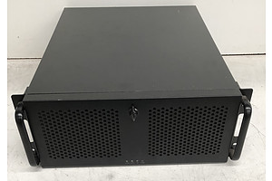 Black 4RU Server Chassis
