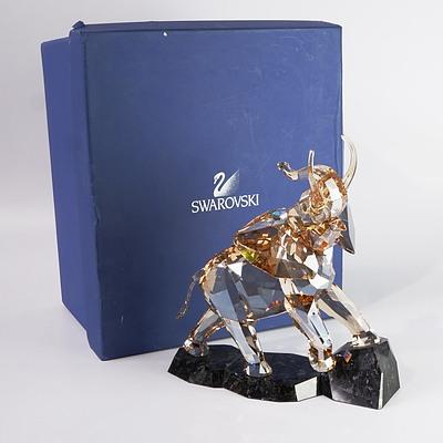 Swarovski Crystal Elephant in Original Box