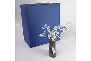 Swarovski Crystal Eagle in Original Box