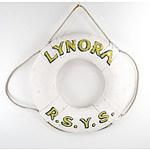 Life Buoy 'Lynora' Royal Sydney Yacht Squadron